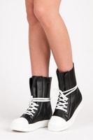 Trampky fashion style černé