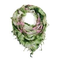 Hippie šátek zelený