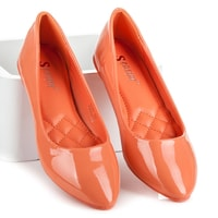 Oranžové baleríny daisy