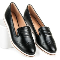 Stylová dámská černá obuv