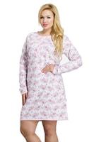 Dámská noční košile Malina růžová