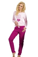 Dámské pyžamo Sara malinové