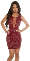 Dámské červené šaty