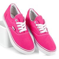 Tenisky pastelově růžové