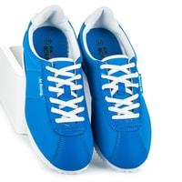 Vázané sportovní boty modré