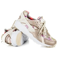 Stylové dámské boty béžové