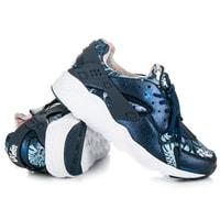Stylové dámské boty modré