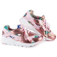 Stylové dámské boty růžové