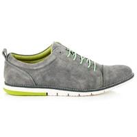 Pánské kožené boty šedé