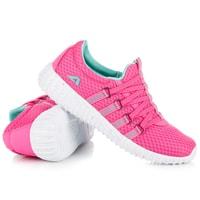 Textilní sportovní obuv růžová