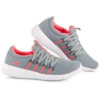 Textilní sportovní obuv šedá
