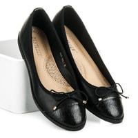 Jarní dámská obuv černá