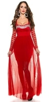 Krásné dlouhé plesové šaty
