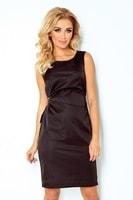 Dámské černé společenské šaty
