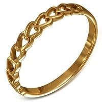 Krásný bronzový prsten