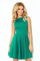Dámské elegantní zelené šaty