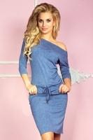 Dámské modré sportovní šaty
