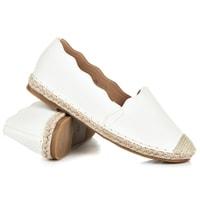 Jarní dámská obuv bílá