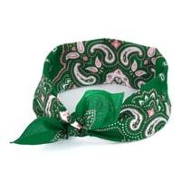Šátek pinup bandana zelený