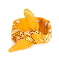 Šátek do vlasů pin-up oranžovožlutý