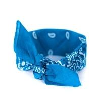 Šátek do vlasů pin-up světle modrý