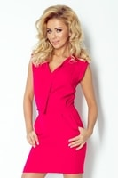 Dámské moderní šaty růžové