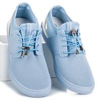 Sportovní boty se stahováním modré