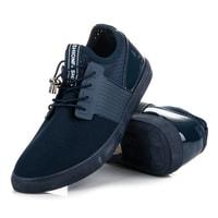 Sportovní boty se stahováním tmavě modré