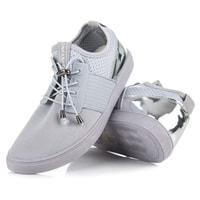Sportovní boty se stahováním šedé