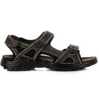 Sportovní sandály tmavě hnědé