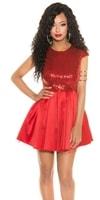 Krátké plesové šaty