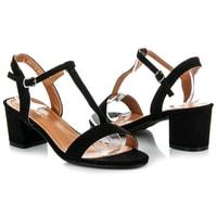 Letní obuv na podpatku