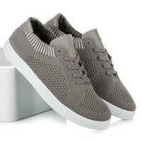 Dámské textilní tenisky šedé