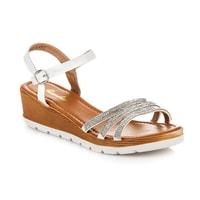 Dámské sandály bílé