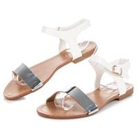 Sandály casual bílé