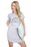 Dámská noční košile Molly šedá