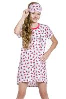 Dívčí noční košilka Amélie s melouny