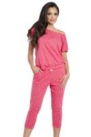 Dámské pyžamo Inka malinové