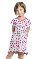 Dívčí noční košilka Lilie šedá s melouny