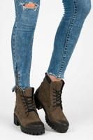 Šněrovací podzimní boty workery