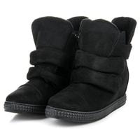 Černé sneakery na suchý zip
