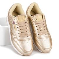 Zlaté sportovní boty