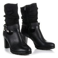 Vysoké boty se zateplením