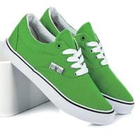 Zelené školní tenisky