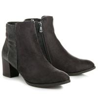 Vysoké šedé boty