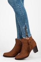 Hnědé boty s třásněmi
