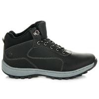 Černé trekové boty