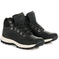 Trekingové boty černé