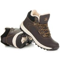 Trekingové boty hnědé