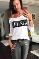 Dámské tričko s nápisem bílé
